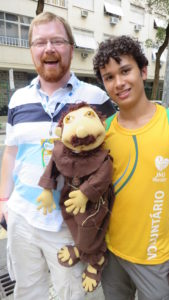 Fr. Alan and Francis in Rio