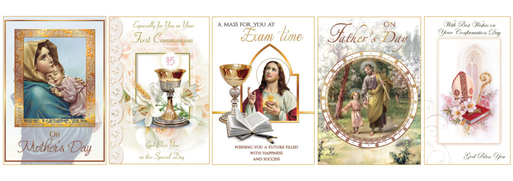 Special Occasion Mass cards. Exams, Mother's Day Cards, Father's Day Cards, Communion Cards, Confirmation Cards. Missionaries of the Sacred Heart