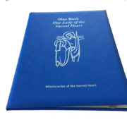 Blue Book Padded Balacron cover