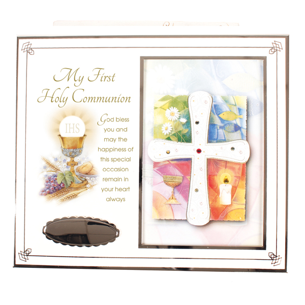 Holy Communion Photo Frame - Symbolic | Missionaries of the Sacred Heart