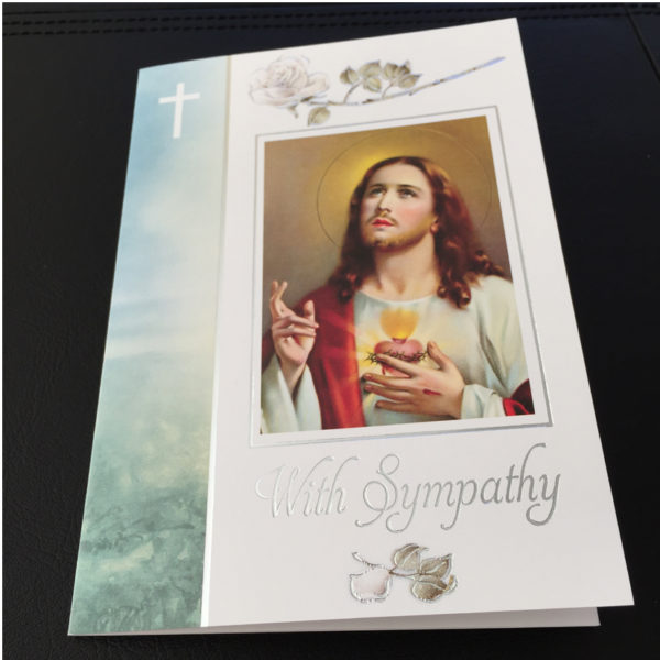 Sympathy Mass Card, Pack of 5. Missionaries of the Sacred Heart