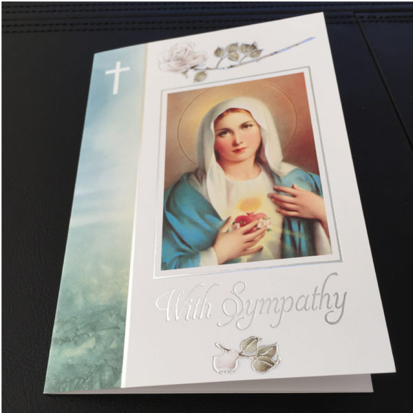 MSC Sympathy Mass Cards