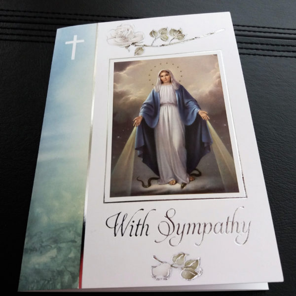Catholic Sympathy Mass Cards. Missionaries of the Sacred Heart. Mscmissions.ie
