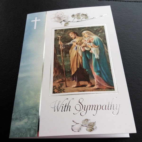 Sympathy Mass Card. Missionaries of the Sacred Heart. Mscmissions.ie