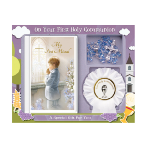 First communion present boy