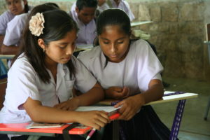 Missionary work in South America. MSC School, Centro Faustino Villanueva, Guatemla.