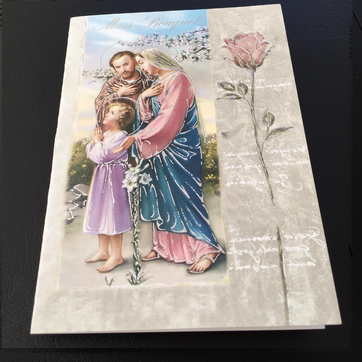 Mass Bouquet Cards