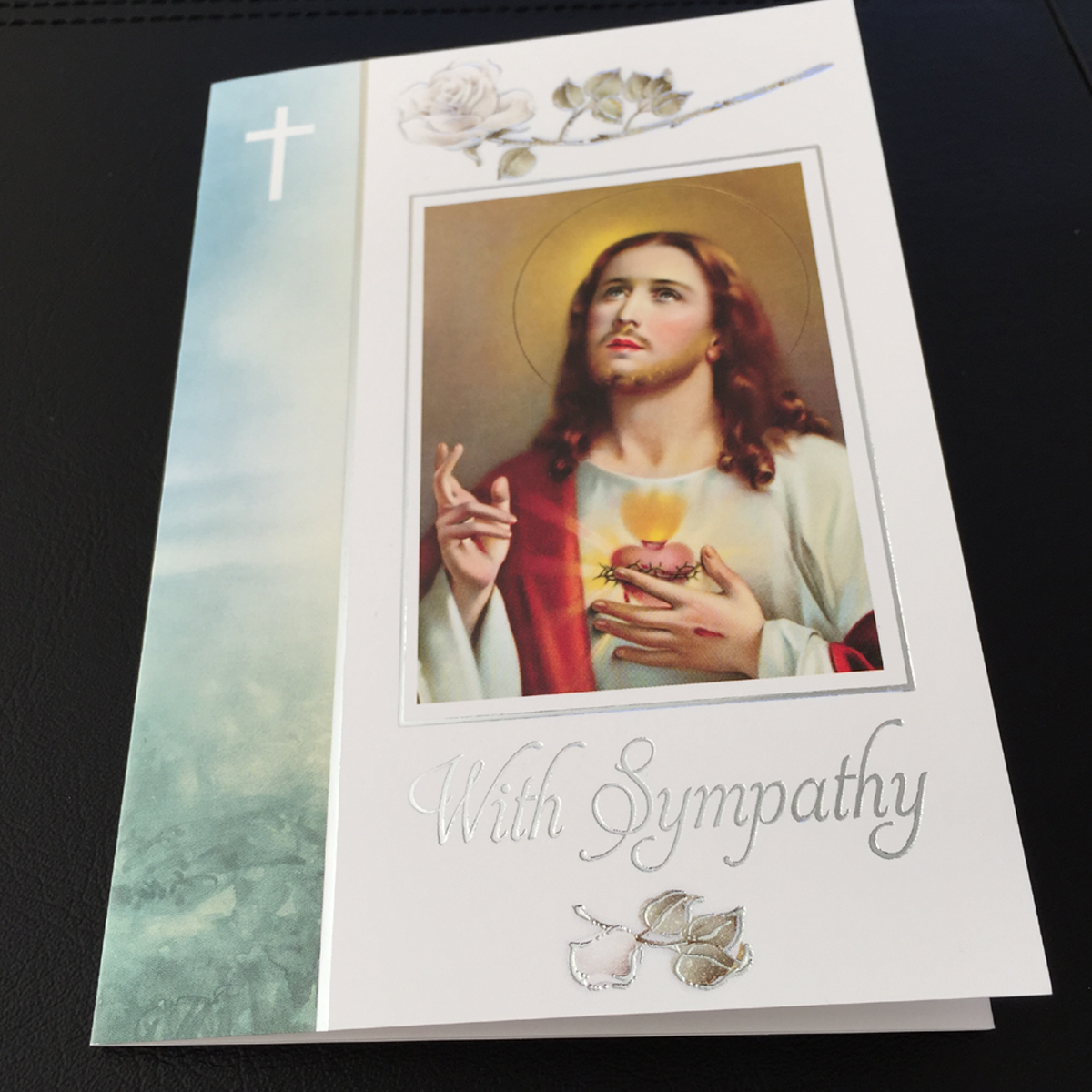 With Sympathy Mass Cards