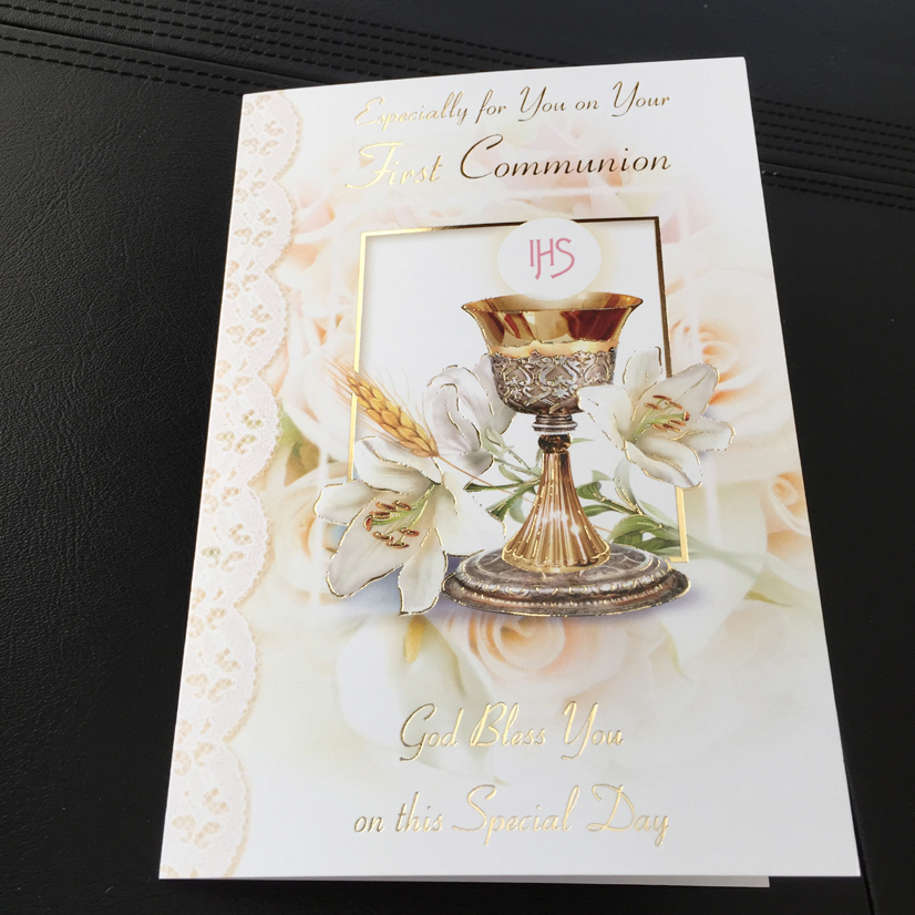 Communion Mass Cards