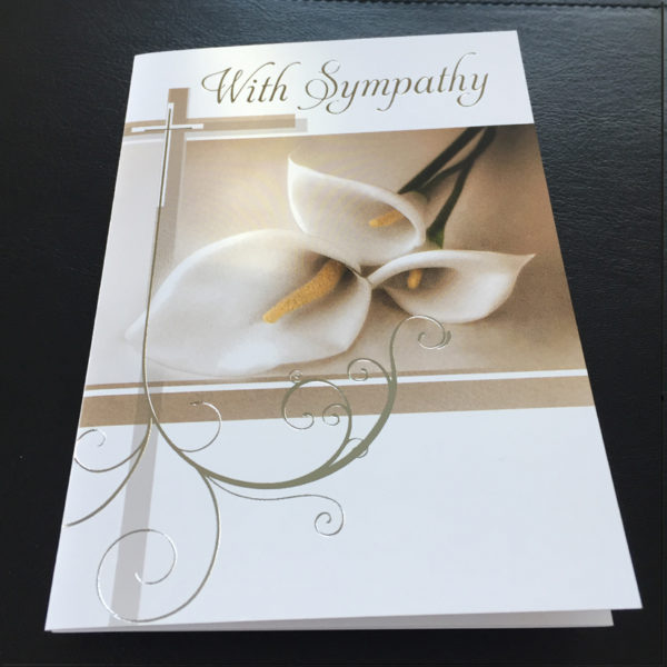 Sympathy Mass Card, Catholic Mass Cards, Missionaries of the Sacred Heart