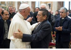 Fr. Paco Blanco and Pope Francis