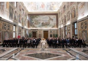 Group Photo of Papal Audience with MSCs