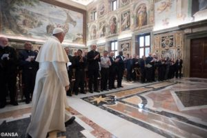 MSC Audience with Pope Francis 1