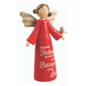 "4"" Resin Message Angel"