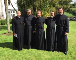 Br. Giacomo at his First Profession in our novitiate community in West Cork Vocation