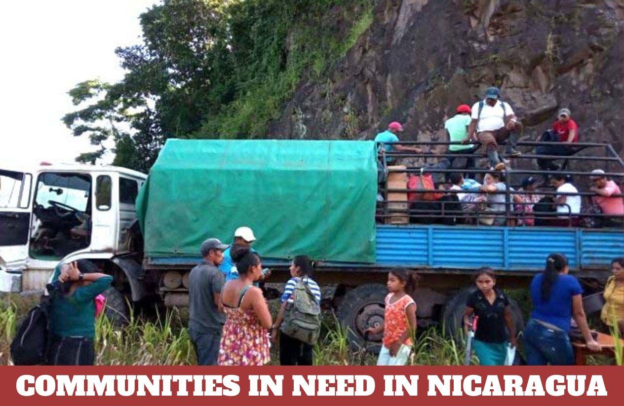 riverside communities in Nicaragua