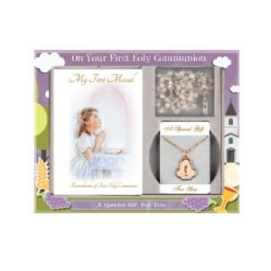 Communion gift set girl