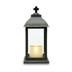 Flameless grave lantern