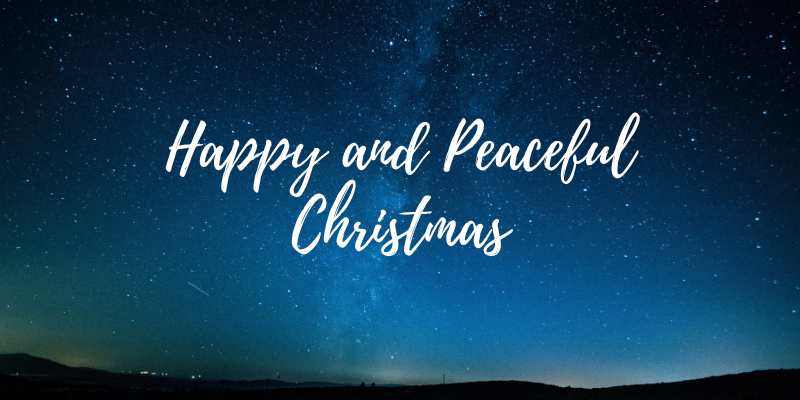Happy and Peaceful Christmas