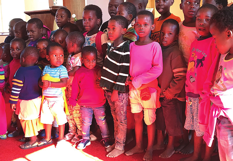 THe Children of the Holy family Centre