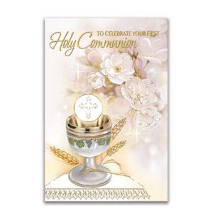 Communion Mass cards