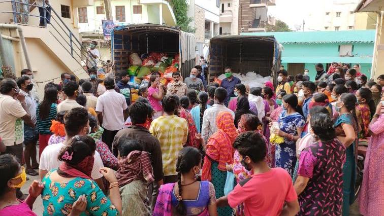 MSC COVID-19 outreach in India.