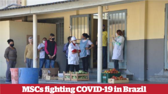 MSCs fighting COVID-19 in Brazil
