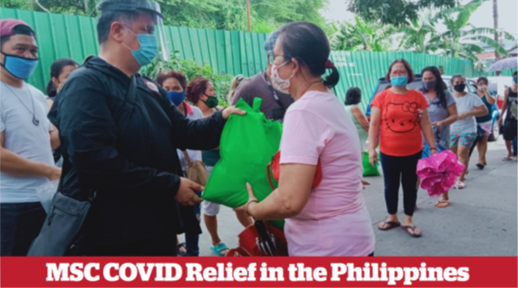 MSC COVID Relief in the Philippines