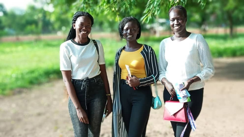Three graduates from the Loreto Rumbek intern programme are now going on to further education in Kenya.