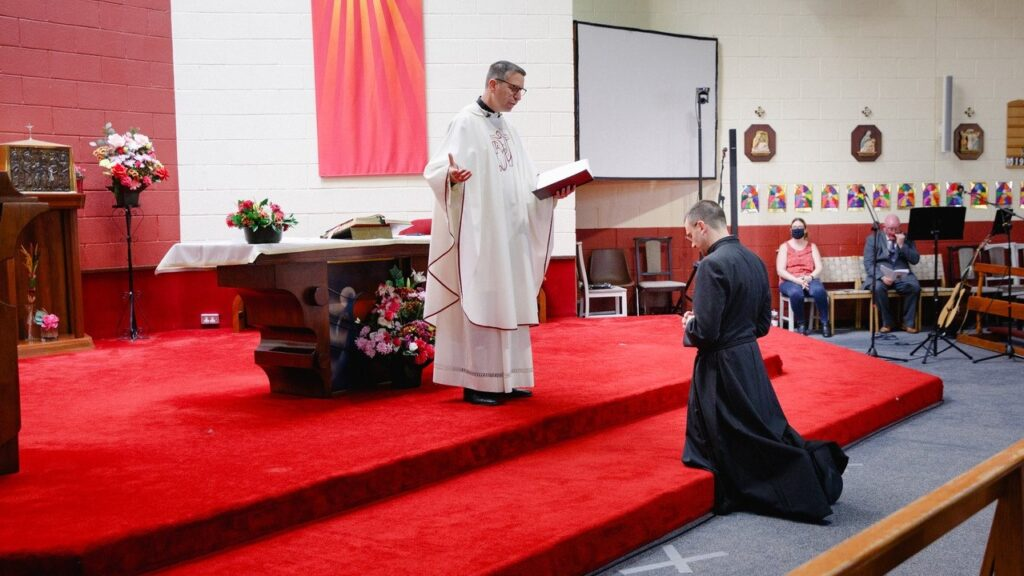 Br Giacomo Gelardi MSC makes his Perpetual Profession to the Missionaries of the Sacred Heart at the Sacred Heart Church, Killinarden.